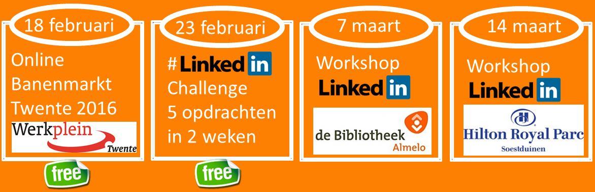Workshop LinkedIn werkzoekenden Alwin Zandvoort 06 26316321